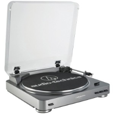 AUDIO TECHNICA AT-LP60 Fully Automatic Belt-Driven Turntabl